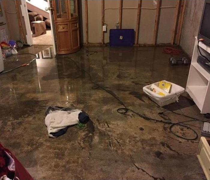 Storm Damage When Storms or Floods hit Alpena SERVPRO is ready!